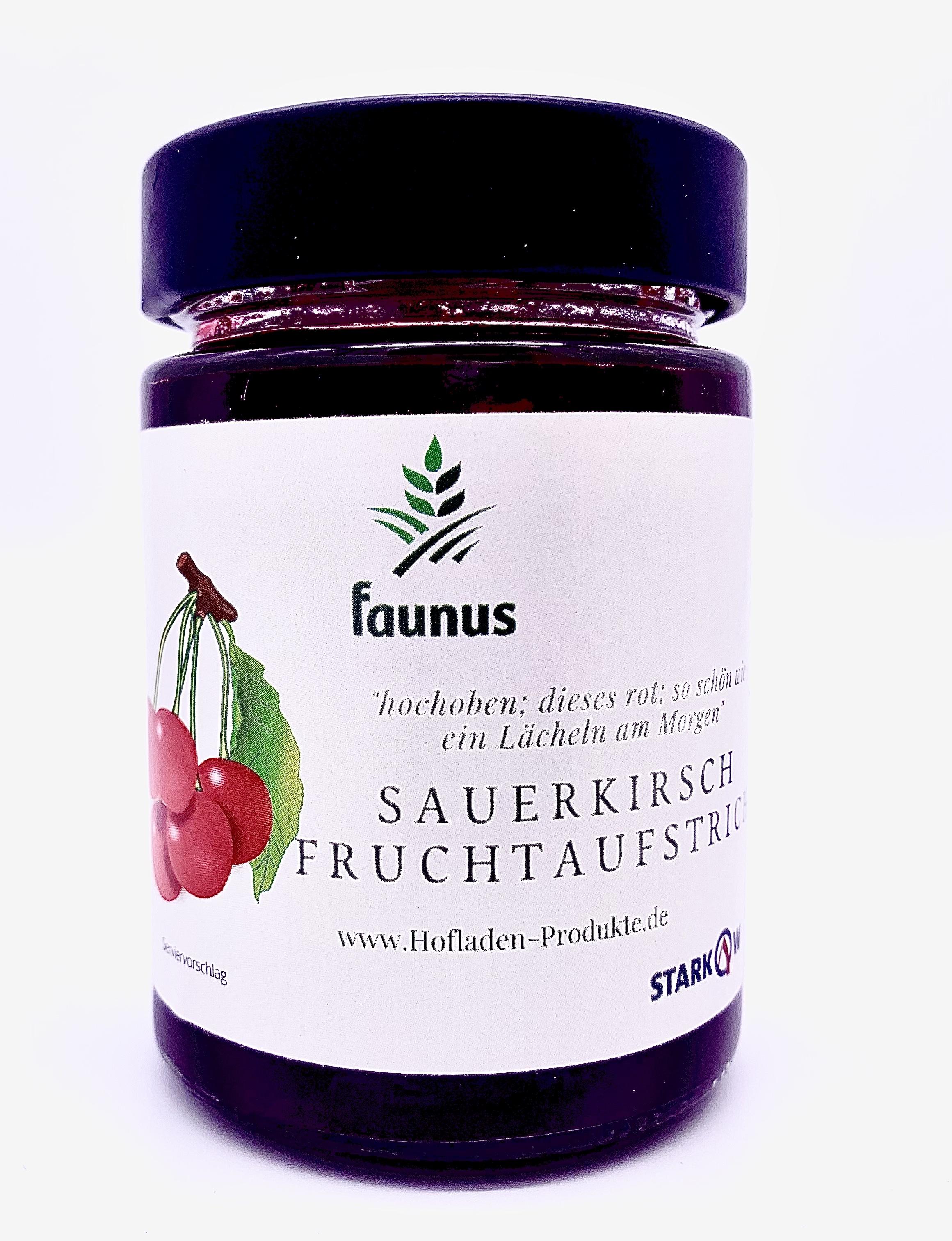 Sauerkirsch Fruchtaufstrich