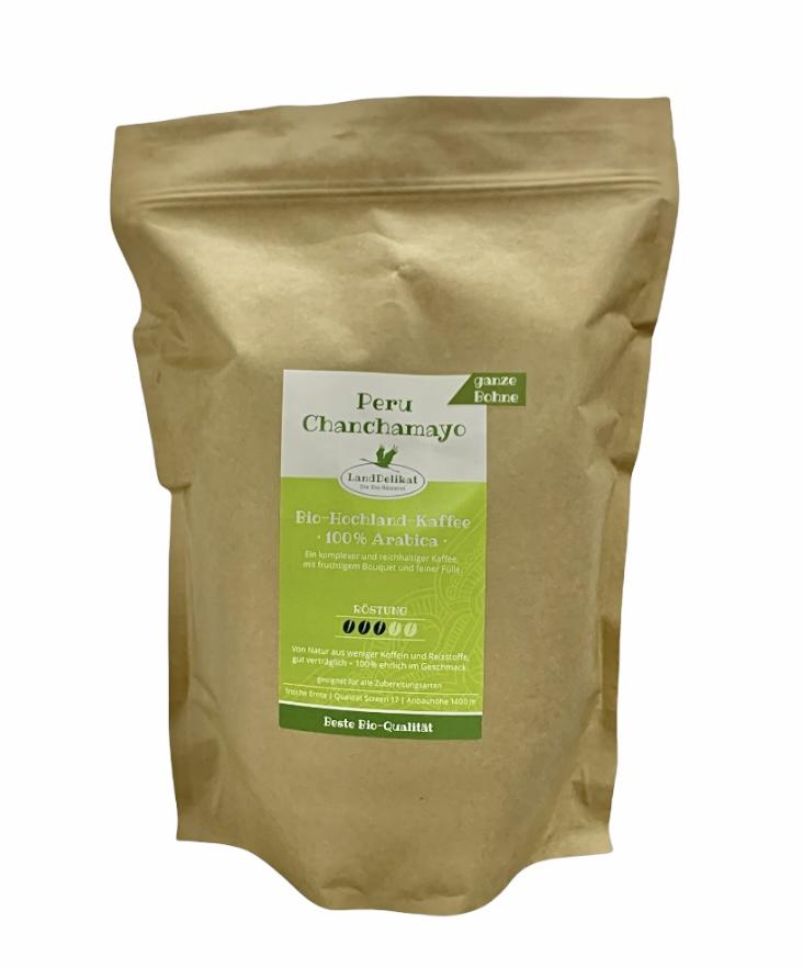 Bio Hochlandkaffe Peru -Chanchamayo