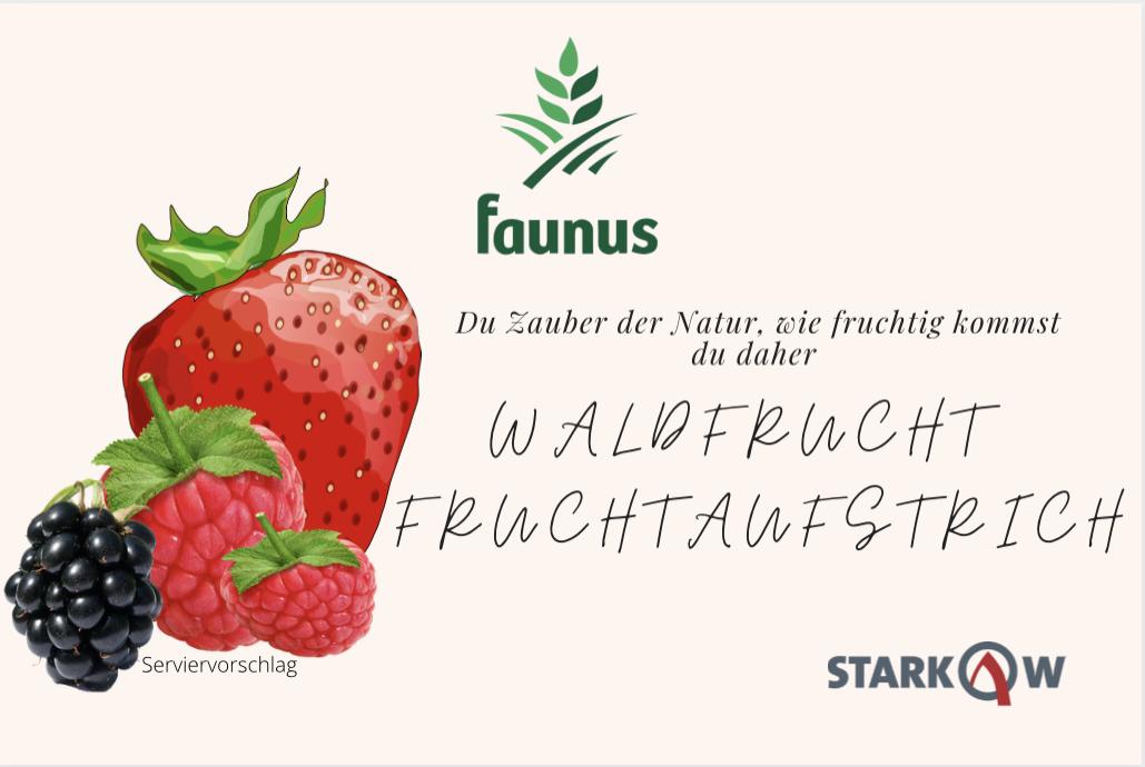 Waldfrucht Fruchtaufstrich