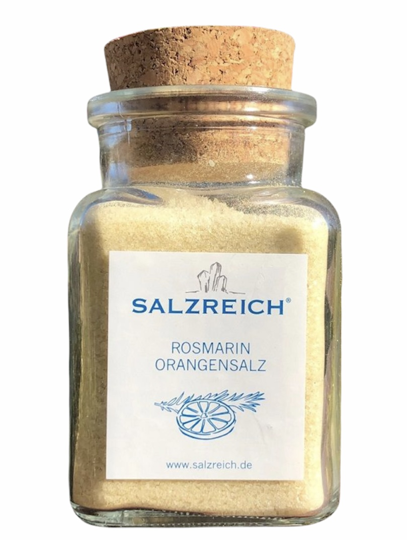 Rosmarin-Orangen Salz